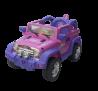 KA403 - Kidz Auto Jeep - Pink - Profile